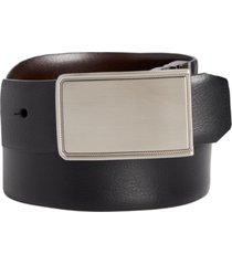 closeout! perry ellis men's rachel plaque belt
