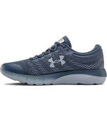 tenis de mujer ua w charged bandit 5 under armour  - gris gris under armour 3021964-401 10
