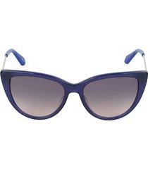 nastasi 54mm cat eye sunglasses