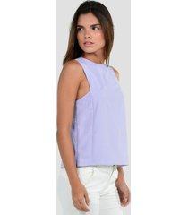 blusa sin mangas de mujer exotik ew172-1102-917 negro