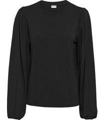maglia in crêpe (nero) - bodyflirt