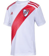 camiseta blanco adidas river plate home jsy young