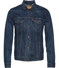 the trucker jacket palmer truc jeansjacka denimjacka blå levi´s men