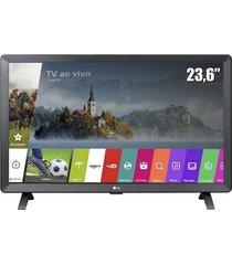 "smart tv monitor lg 23,6"", led 24tl520s, webos 3.5, wi-fi integrado"