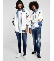 """the 86"" iconic jacket - white - l"