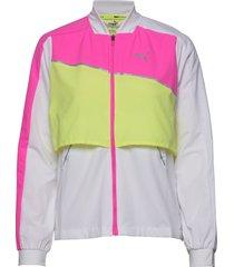 run lite woven ultra jacket sommarjacka tunn jacka multi/mönstrad puma