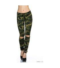 leggings camouflage / olijf