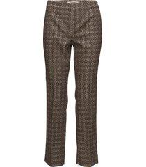 larice pantalon met rechte pijpen multi/patroon pennyblack
