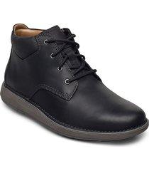 un larvik top laarzen met veters zwart clarks