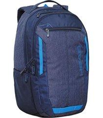 mochila porta notebook carrera azul marino head