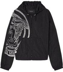 medusa-print jacket