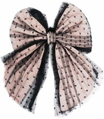 red valentino bowtulle point desprit hair pin