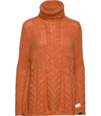 cozy hugs turtleneck turtleneck polotröja orange odd molly