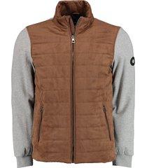 bos bright blue ethan pasetta/sweat jacket 21101et04sb/820 sand