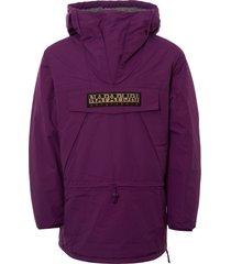 napapijri skidoo jacket - mid purple n0yhu7v44-prp