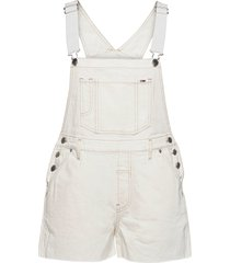 over dungaree short sspwr jumpsuit wit tommy jeans