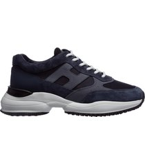 scarpe sneakers uomo in pelle interaction