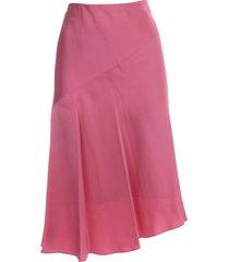 helmut lang asymetric midi skirt