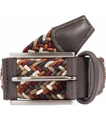 anderson's belts woven fabric belt - multi b0667 af3689-m1