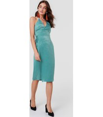 rut&circle haley wrap dress - green