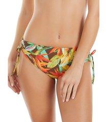 bikini selmark bird of paradise mare hoge taille zwembroekjes