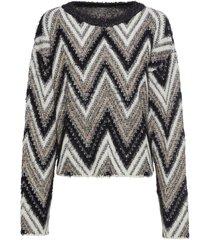 pullover con lurex (bianco) - bodyflirt
