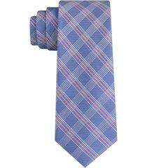 tommy hilfiger men's elm skinny check tie