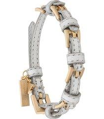 coup de coeur buckle bracelet - grey