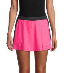 eleven by venus williams women's aria tennis skirt - raspberry - size xl