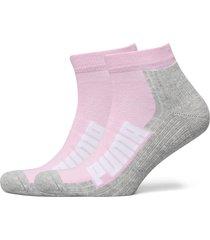 puma unisex bwt cushi d quarter underwear socks regular socks rosa puma