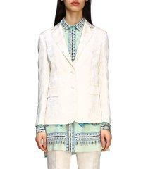 etro suit single-breasted etro damask jacket