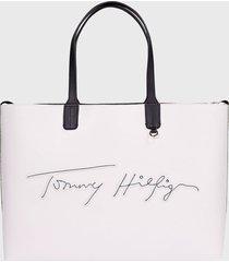 cartera blanco tommy hilfiger