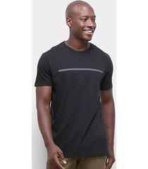 camiseta calvin klein faixa ckj masculina - masculino