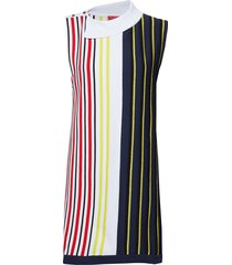 striped swtr dress, korte jurk multi/patroon hilfiger collection