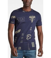 men's graphics allover slim t-shirt