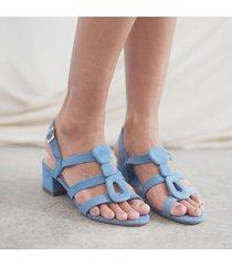 sandalia medium azul para mujer petra sandalia medium petra azul-39