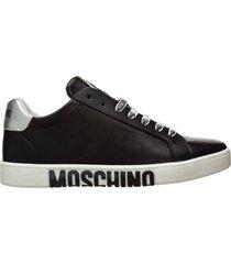 scarpe sneakers uomo in pelle double question mark