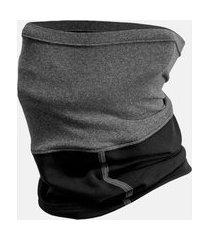 bandana rosto e pescoço neckband free force preto/cinza
