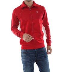 g-star d12886 a650 ore tracktop sweater men red
