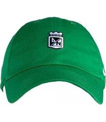gorra nike atletico nacional-verde