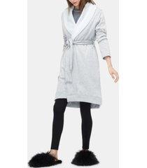 ugg blanche ii double-knit fleece robe