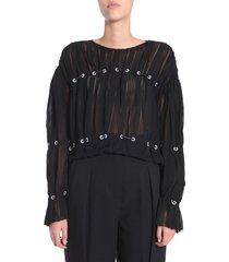 3.1 phillip lim pintuck blouse