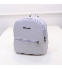 mochila de mujer/ mochila escolar para mujer mochilas-gris