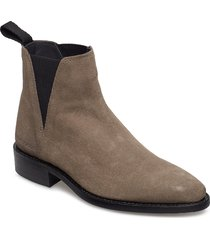 savannah low-703 shoes boots ankle boots ankle boot - flat beige primeboots