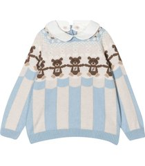 fendi teddy bear sweater