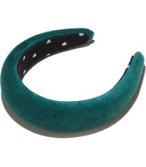 laurel green corduroy padded headband