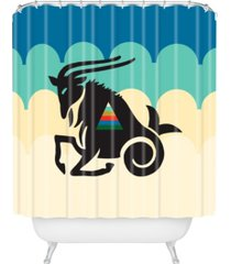 deny designs holli zollinger zodiac capricorn shower curtain bedding