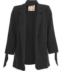 blazer colcci amarrações preto