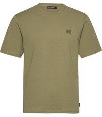 dale logo patch t-shirt t-shirts short-sleeved grön j. lindeberg