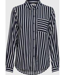 blusa jacqueline de yong negro - calce regular